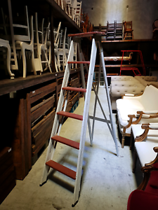 Reduced - Vintage Trestle Ladder  Stafford Heights Brisbane North West Preview
