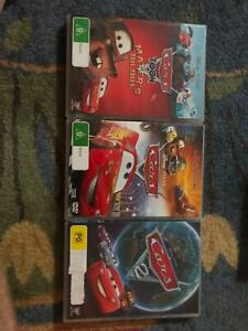 Cars,Cars 2 and Mater's Tall Tales DVDs Forest Glen Maroochydore Area Preview