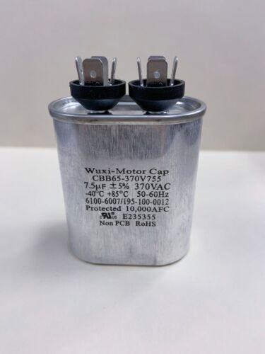 CBB65-370V755 7.5 uF 370 VAC Capacitor 1499-546 Coleman 195-100-0012  1499-5461