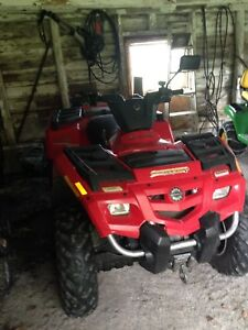 2005 Bombardier Outlander 400 4x4 with winch