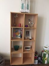 8 hole book case on wheels! Northgate Port Adelaide Area Preview