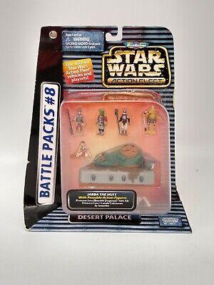 Micro Machines Star Wars Action Fleet - Battle Pack 8 Jabba The Hutt