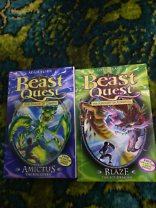 Beast Quest books for sale.