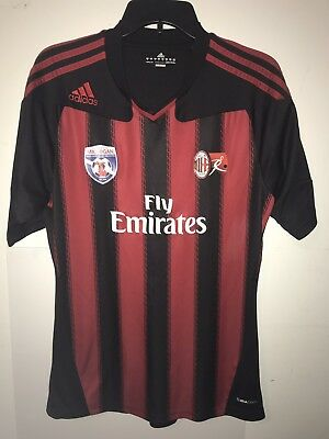 Adidas Climacool Arsenal Fly Emirates Jersey Medium Men's/Youth AC Milan