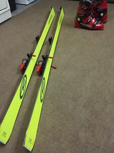 Rossignol ski's and boots