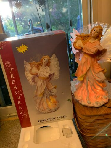 Treasures Fiber Optic Angel