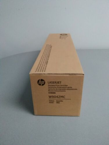 HP W9042MC Yellow Toner Cartridge LaserJet Managed MFP E77822, E77825, E77830