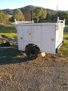Camper trailer,tool trailer,xl service body unfinished project Harlin Somerset Area Preview