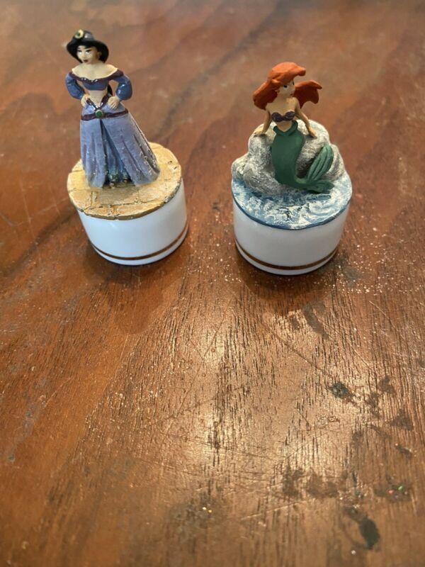 Disney Miniatures Princesses - Ariel and Jasmine -Cast of Characters Mini Box
