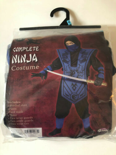 Kids Ninja Halloween Costume Small Size 6