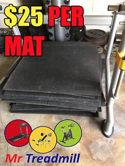 LARGE RUBBER GYM MATS | MR TREADMILL