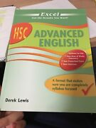 Excel Advanced English HSC text book Quakers Hill Blacktown Area Preview