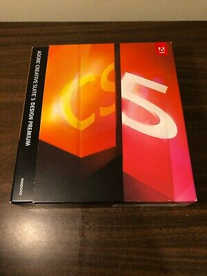 Adobe Creative Suite 5 CS5 Upgrade Design Premium Windows With Serial Number