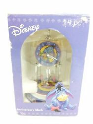 Disney Eeyore Anniversary Desk Pendulum Clock in Original Box EUC