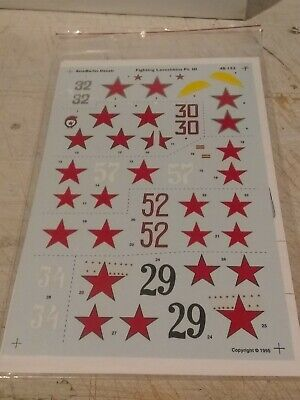 Aeromaster decals 1/48 48-152C Fighting Lavochkins Pt III LOWEST EBAY PRICE