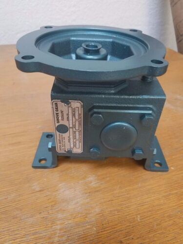Grove Gear Flexaline Worm Speed Reducer JMQ213-3 ratio 5:1 mot frame 56c HP 1.05