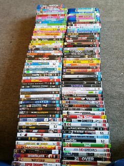 Bulk lot of dvds over 100