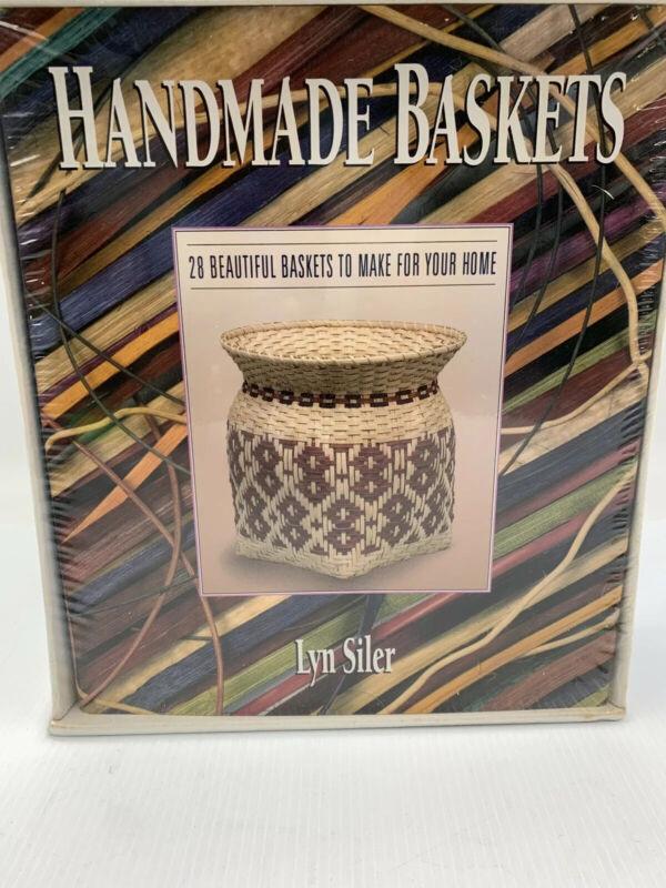 HANDMADE BASKETS Book & Kit LYN SILER Step-by-Step Craft Art Home Decor