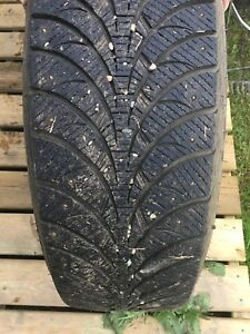 Good year ultra ice winter tires..studded
