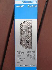 Shimano Dura Ace Ultegra 105 CN-6701 10 Speed Road Chain **New**