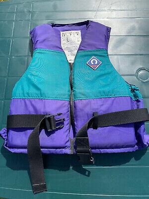 Usado, Crewsaver Splash 50N Buoyancy Aid Size MA Zip Front Sailing Kayak Windsurf EN393 segunda mano  Embacar hacia Mexico