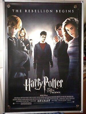 HARRY POTTER AND THE ORDER OF THE PHOENIX Original Movie Poster 27x40  segunda mano  Embacar hacia Argentina