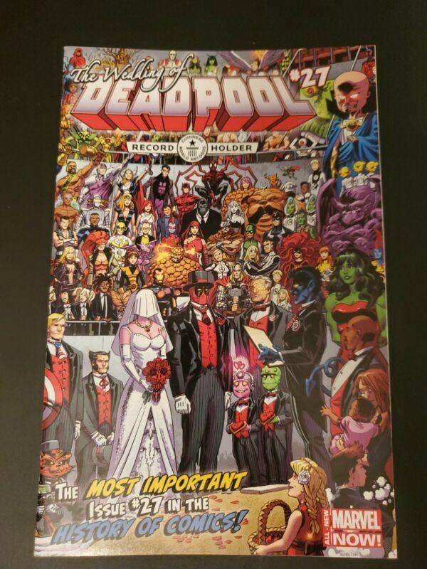 Deadpool #27 The Wedding Of Deadpool