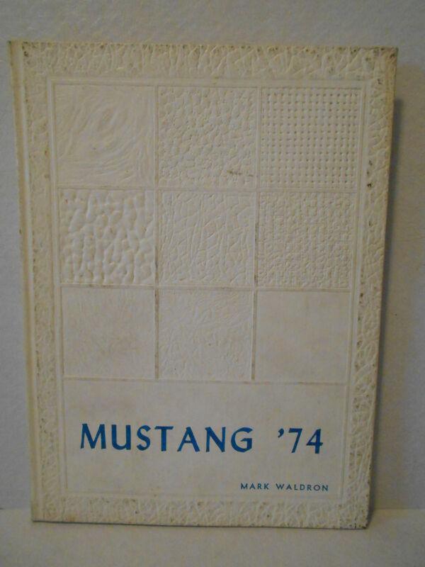 1974 Mustang Cumberland Hills School Yearbook - Pittsburgh, Pa
