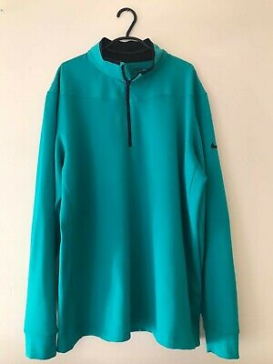 Nike Golf XL Standard Fit Pullover Track Top Green