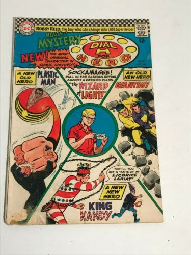 House of Mystery #160 1st silver age app Plastic Man DC Comics 1966 low grade