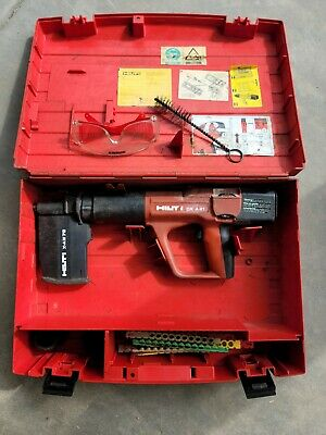 Hilti Dx A41 Powder Actuated Fastening System With Case And Accessories Used