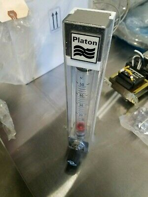 Platon Water Liquid Flow Meter Tool Flowmeter Instrument Flow Meter Ships Free