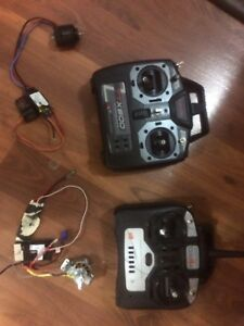 Rc plane motors and remote