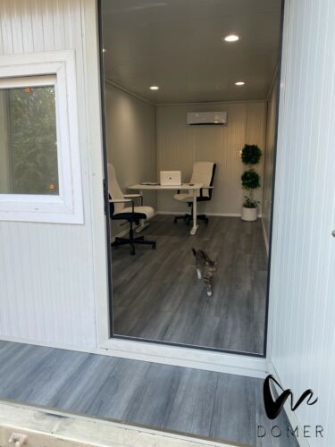 MOBILE OFFICE - Shipping Container Office - Tiny House