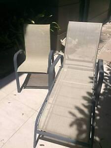 2 Outdoor Sun-lounges plus 4 Chairs Mosman Mosman Area Preview