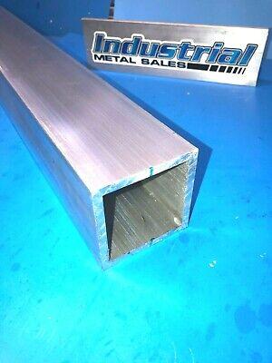 3 X 84-long X 14 Wall 6061 T6 Aluminum Square Tube--3 X .250 Wall