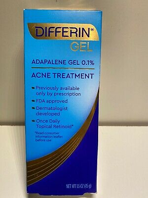 DIFFERIN GEL ACNE TREATMENT (1.6 OZ) Exp 05/2022