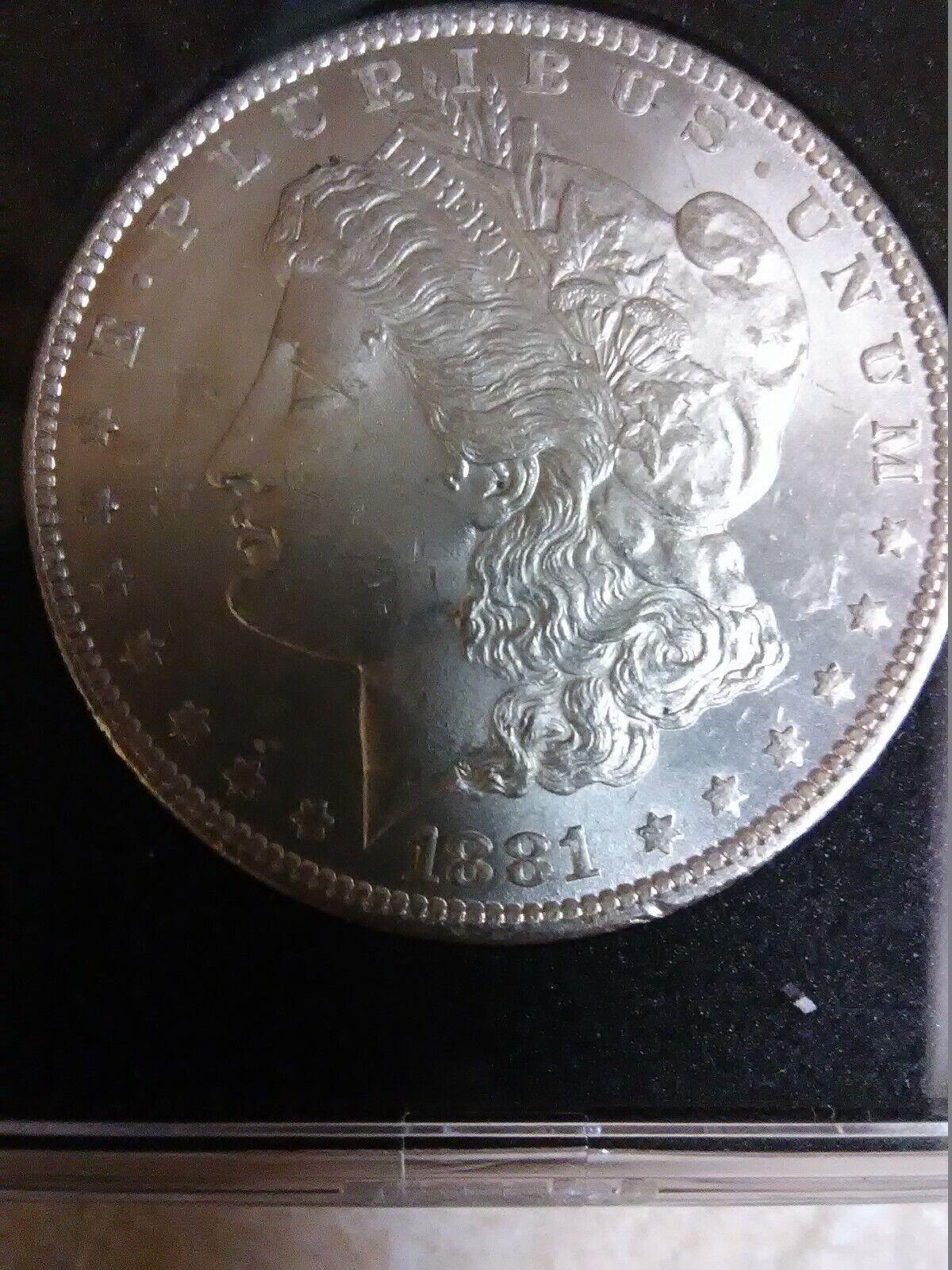 1881 0 Morgan Dollar - $60.00