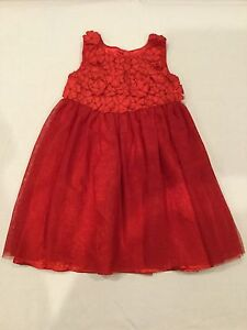 Target Toddler Red Holiday Christmas Dress Size 12-18mths / 2 NWOT Keswick West Torrens Area Preview