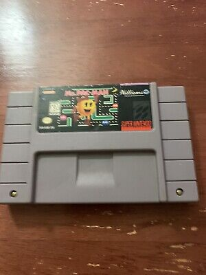 Ms. Pac Man (Super Nintendo Entertainment System, 1996)