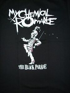 FREE SAME DAY SHIPPING NEW MY CHEMICAL ROMANCE THE BLACK PARADE SHIRT MEDIUM