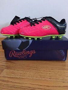 Size 11 kids soccer cleats- BRAND NEW
