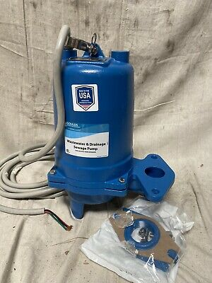 Goulds Ws2034bhf Sewage Ejector Pump 2 Hp 2 Discharge Fnpt