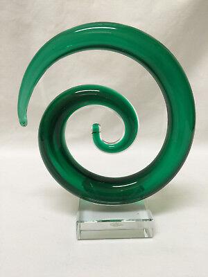 Fantastic Art Glass Swirled Glass Sculpture