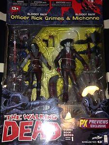 WALKING DEAD Rick & Michonne pack