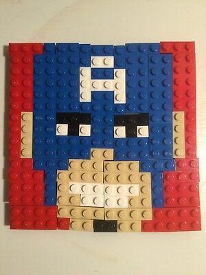 LEGO Marvel Super Heroes Captain America Mosaic Set (72 pcs)