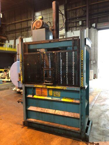 "Mcdonald Services Vertical Industrial/cardboard Baler 15 Hp 60"" X 28"""