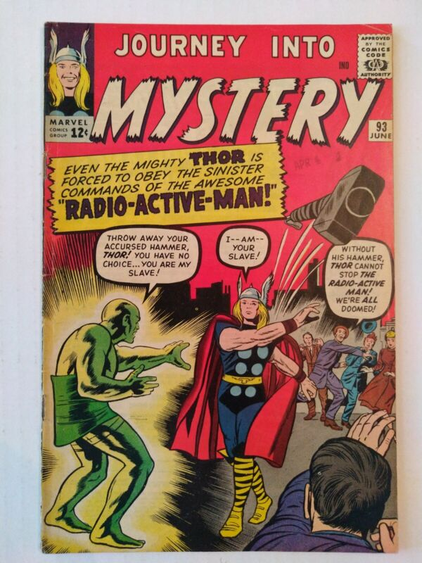 Journey Into Mystery-Thor #93-Marvel-1st Radioactive Man  CBG395