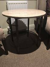granite and metal small table Camden Camden Area Preview