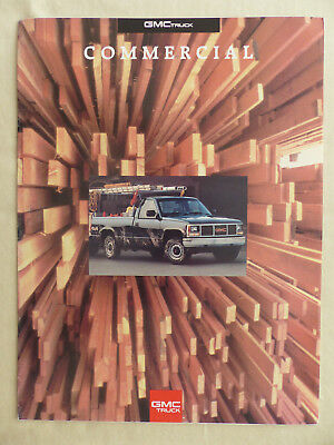 GMC Trucks - Sonoma Sierra Safari Suburban Yukon - US-Prospekt Brochure 1992 USA